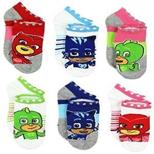 PJ Masks - Girls 6 pairs Socks (NIP)